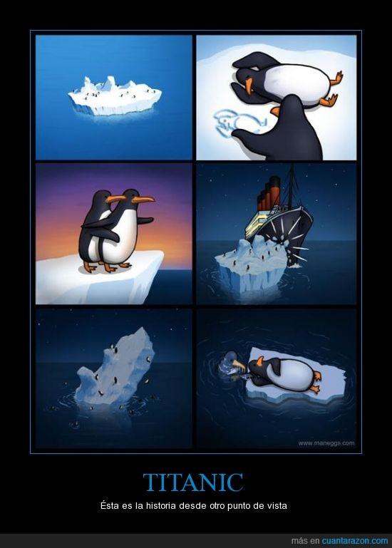 historia,iceberg,oscar,pingüinos,titanic