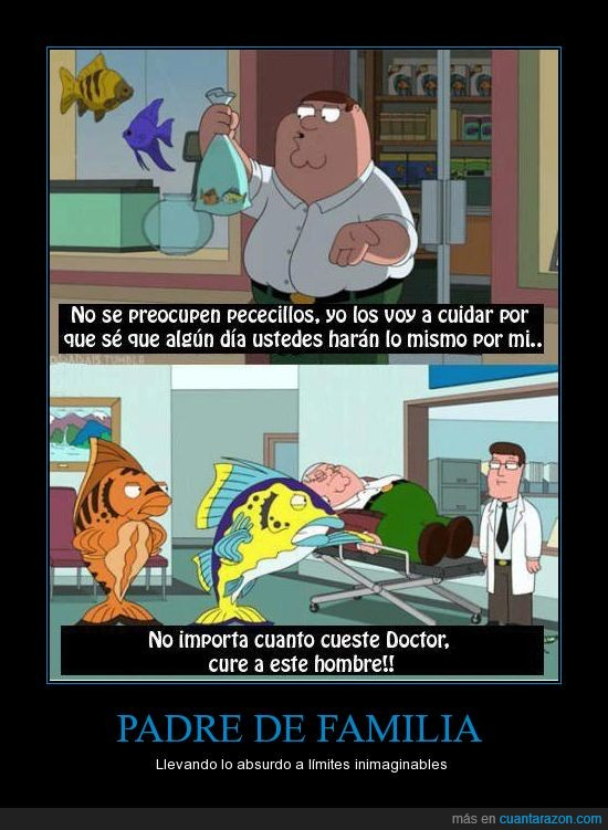 abuelo,doctor,family guy,griffin,padre de familia,peces,peter,salvar