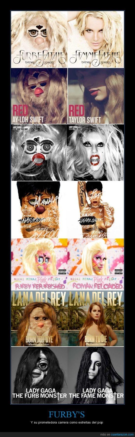 . cd,britney,estrella,furby,lady gaga,lana del rey,pop,portada,single
