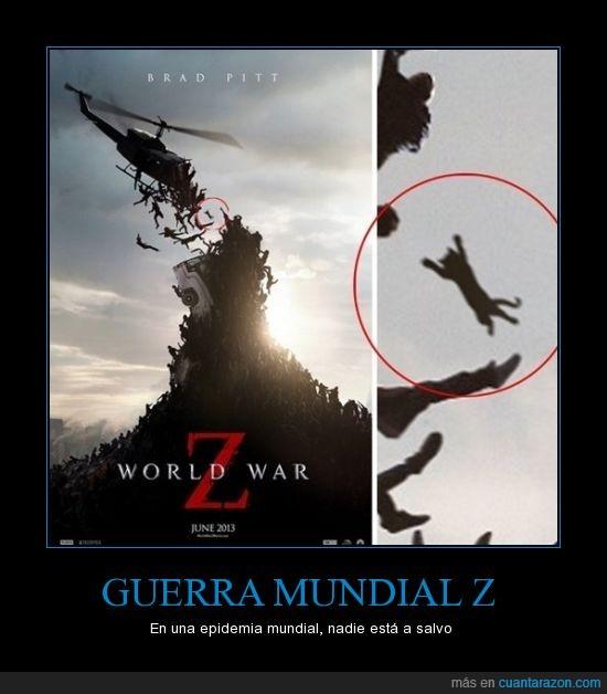 gato,helicoptero,volar,world war z,zombie