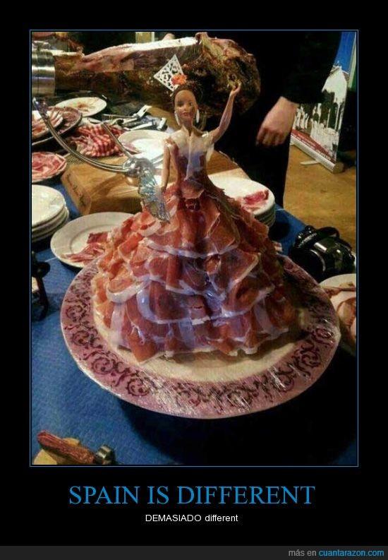 flamenca,jamon,miedo,sevillana,terror,traje,vestido