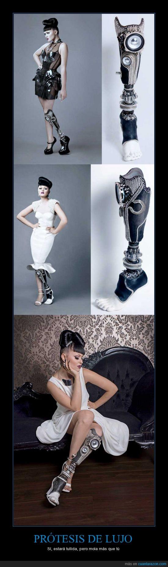 bionica,estilo,pierna,protesis,zapato