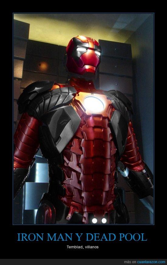 ironman deadpool marvel supererues