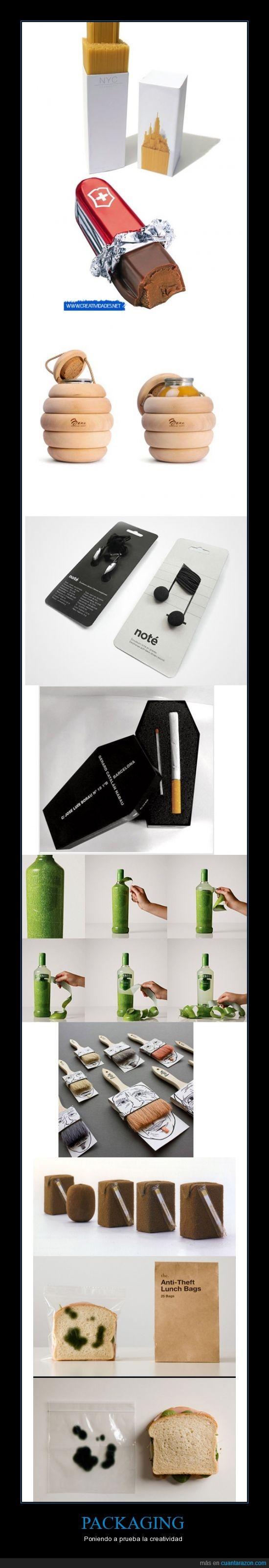 brick,brocha,chocolate suizo,cigarro,creatividad,envoltorio,navaja,packaging,publicidad,sandwich,spaguettis