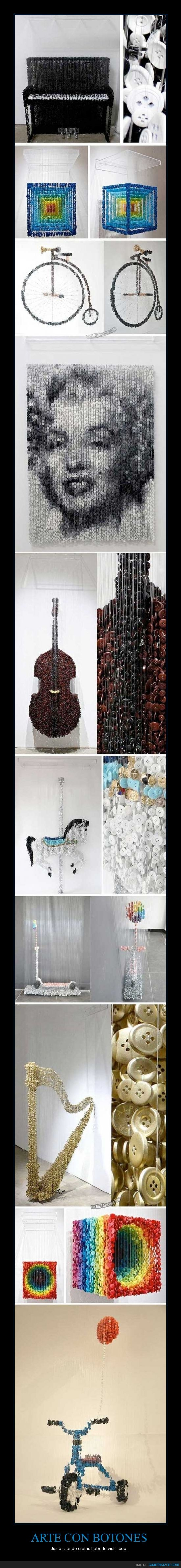 bici,boton,escultura,hilo,retrato