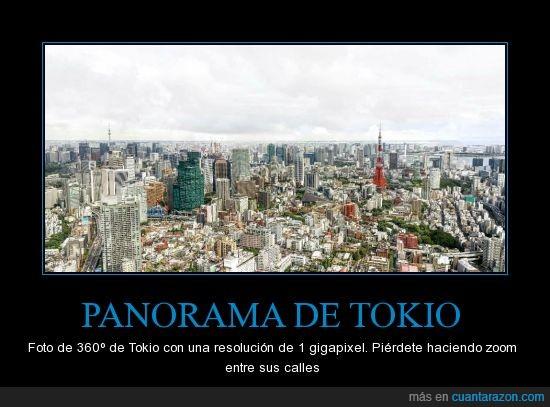 360º,gigapixel,increible,Japónteníaqueser,resolución,Tokio