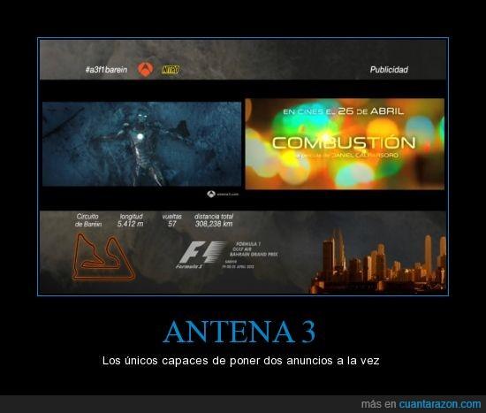 antena 3,anuncio,doble,dos,publicidad