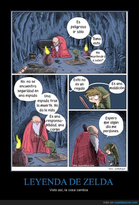 espada,juegos,link,maldición,regalo,zelda