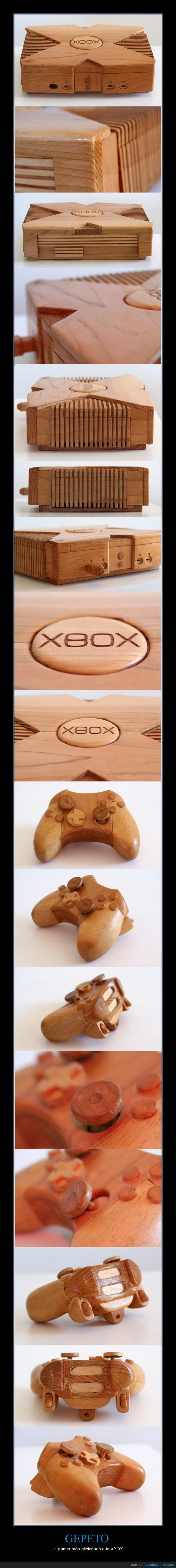 controller,gamer,madera,mando,xbox