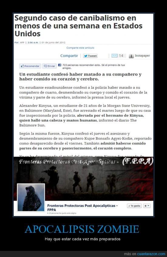 :I,Apocalipsis,Bioterrorismo,Fronteras,Protectoras,Zombies