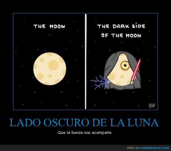 lado oscuro,luna,star wars