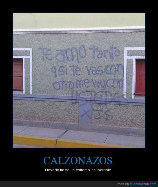 amor,cantidad,graffiti,me voy con ustedes,otro,pared,pintura,tanto,verdad