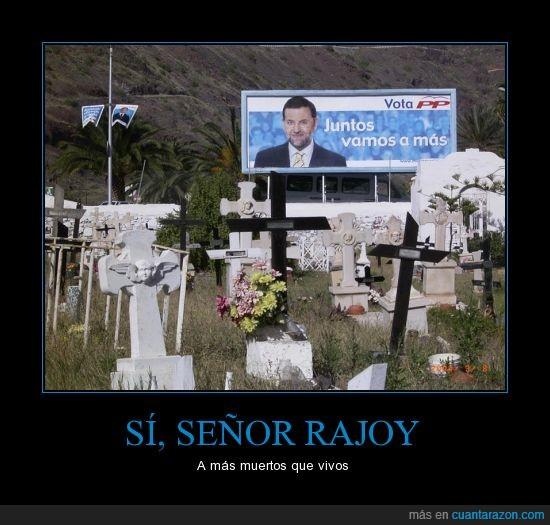 cementerio,chorizo,presidente,rajoy,valla
