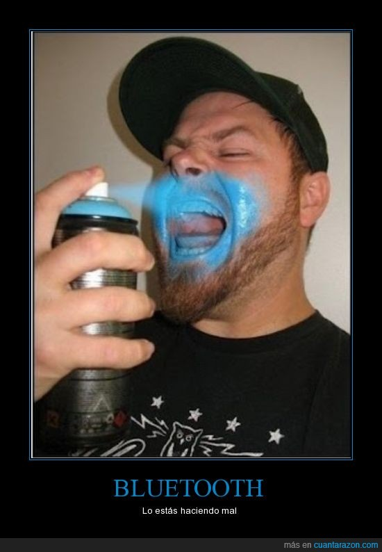 azul,bluetooth,dientes