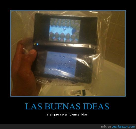 agua,consola,ducha,ideas,Nds,Nintendo,pokémon