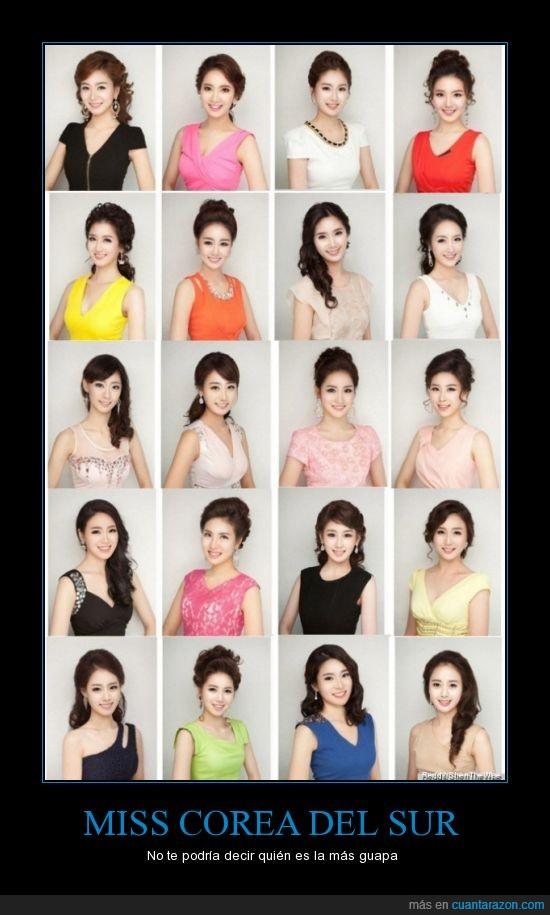copiar pegar,guapas,idénticas,iguales,modelos,operacion estética