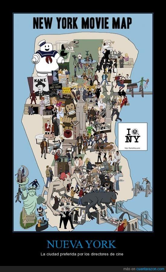 ahí vivía yo :(,calle,cine,localizaciones,nueva york,ny,películas