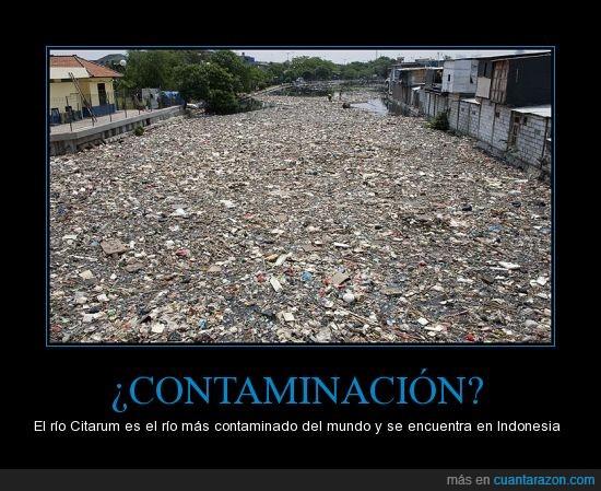 Basura,Contaminación,Desastre,Indonesia,Río