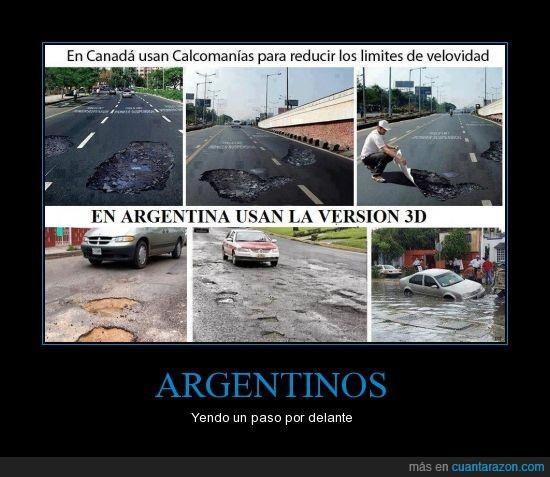 argentina,calles,mal estado,mantenimiento,rotas