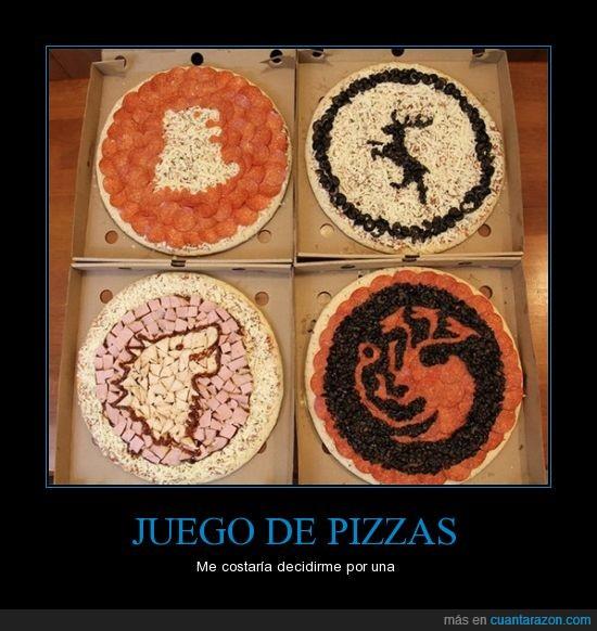 comida,ingredientes,juego de tronos,pizzas