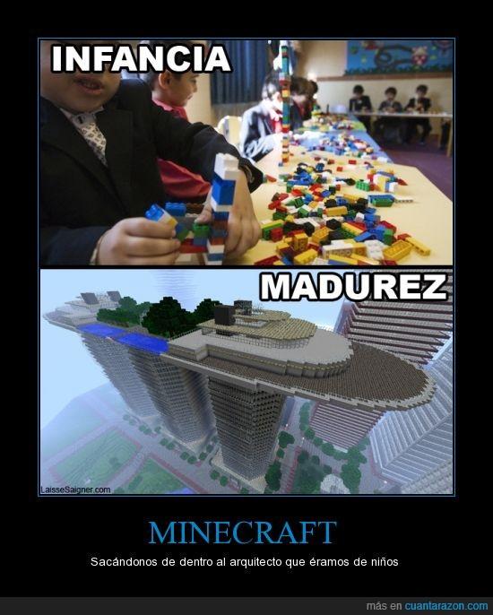 infancia,laisse saigner,LEGO,madurez,minecraft