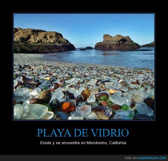 california,mar,mendocino,playa,vidrio