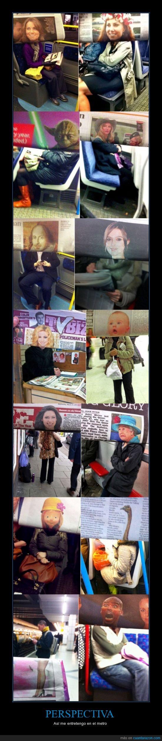 caras,cuerpos,diario,imagen,metro,periódico,perspectiva,tren