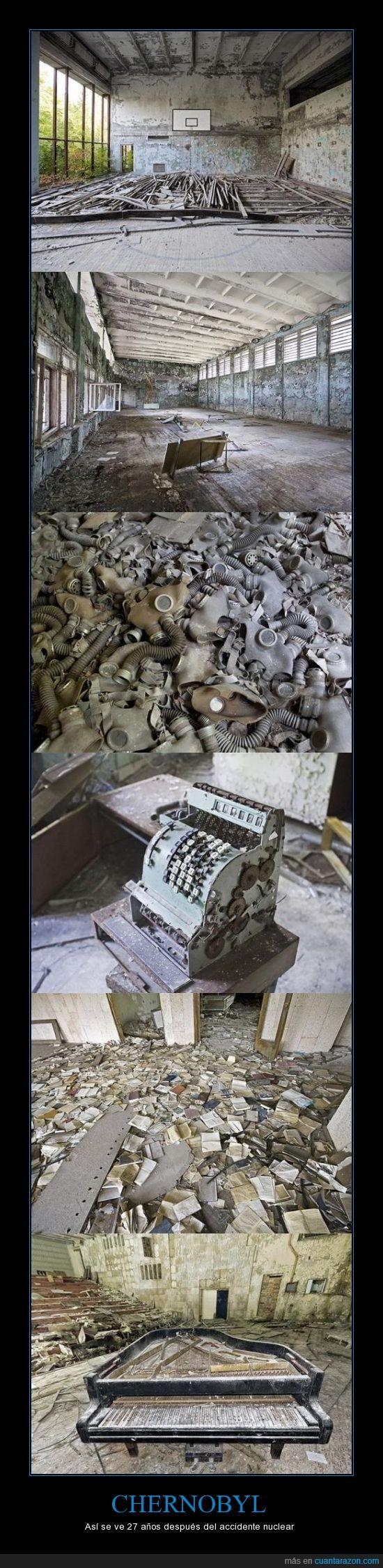 27 años,Abandonado,Chernobyl,Pueblo Fantasma,Solo 2 Personas Trabajan En Ese Lugar