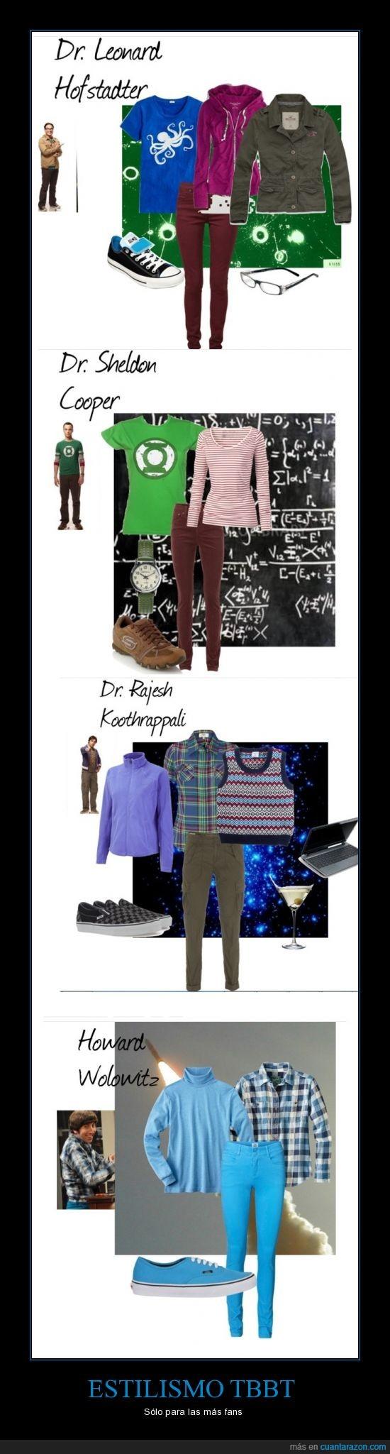 big bang theory,estilismo,leonard,ropa,sheldon,tbbt
