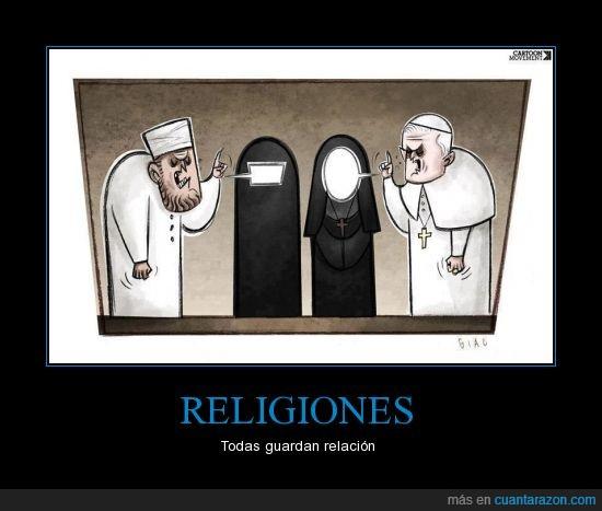 mujer,parecido,religion,sometimiento