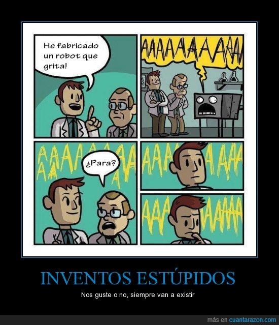 estupido,invento,robot