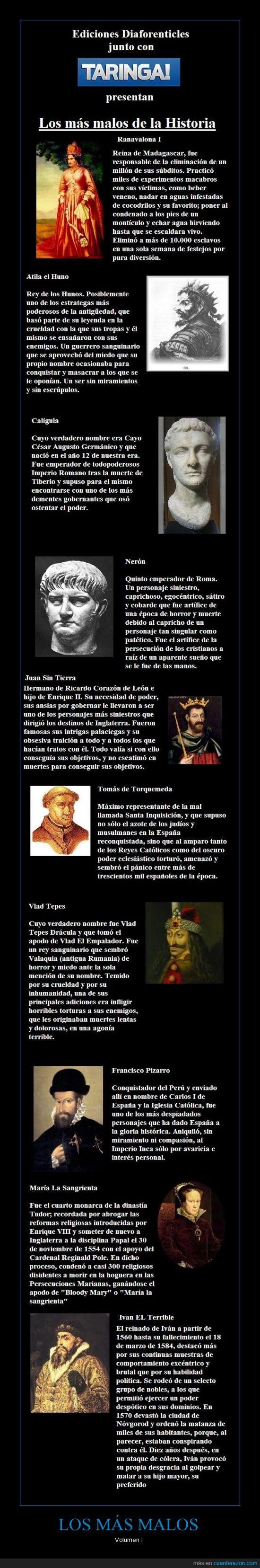 asesinos,criminales,Dictadores,generales,genocidas,historia,los más