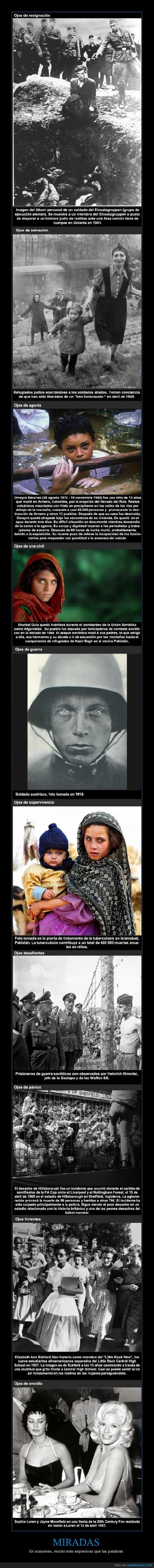 expresivos,fotos,ojos,segunda guerra mundial,sophia loren
