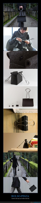 bolso,clip,negro,papel,pinza