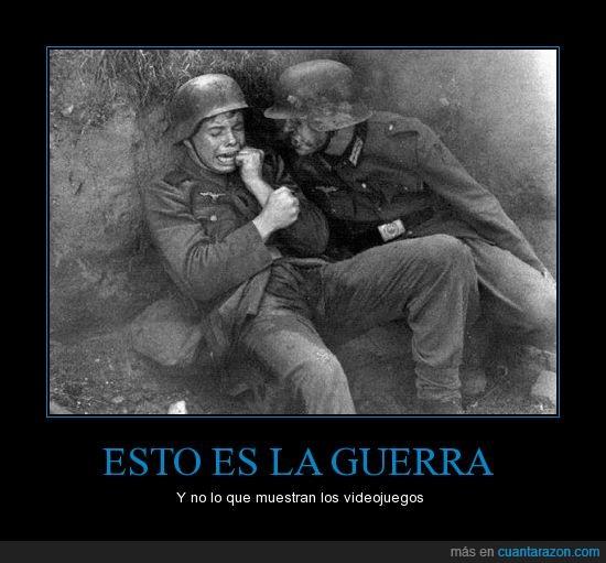 call of duty,encima,guerra,juegos,llorar,mear,miedo,muerte,orina,que divertido es matar