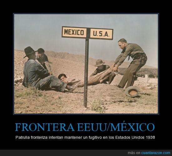 1938,el paso texas,frontera,fujitivo,mexico,policia,u.s.a.