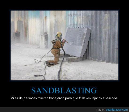 bangladesh,desgasta,muerte,personas,sandblasting,tejanos,viejos