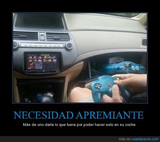 auto,coche,friki,gamer,mario kart,nes,nintendo