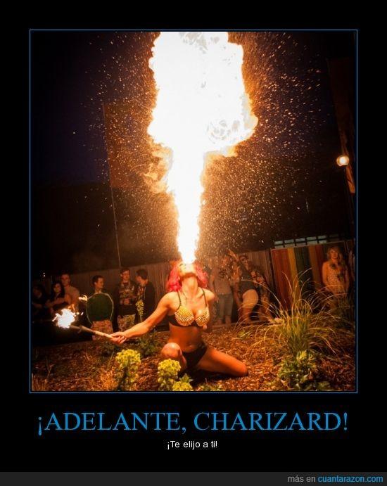 asustante,charizard,fuego,lol,pokémon,tía