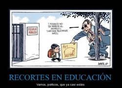 Enlace a RECORTES EN EDUCACIÓN