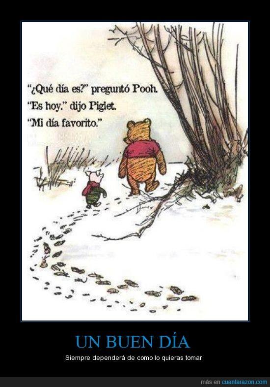 buen,dia,piglet,winnie the pooh