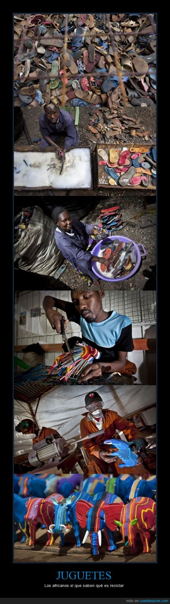 africa,juguetes,reciclaje,sandalias
