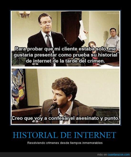 confesión,crimen,historial,internet,juicio