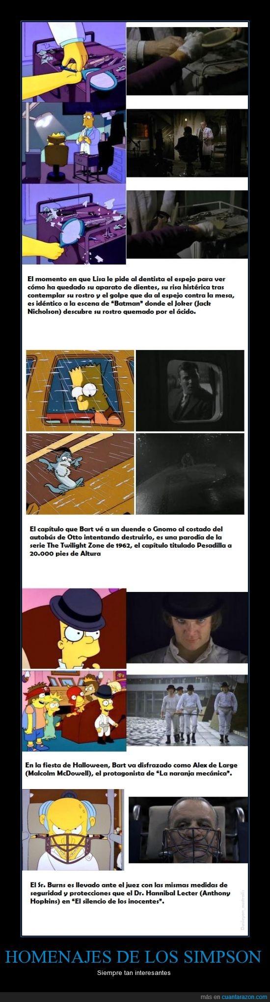 Batman,Hannibal,La naranja mecanica,Los simpson,Parodias,The Jocker