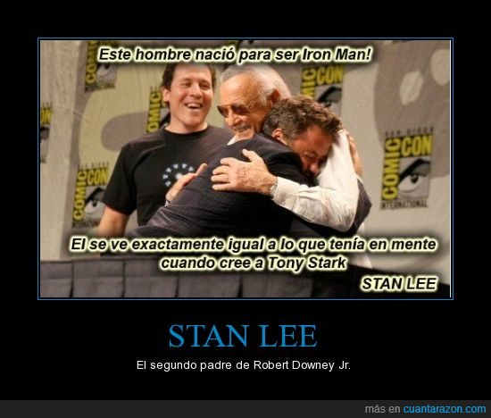 ironman,perfecto,personaje,robert downey jr,stan lee,tony stark
