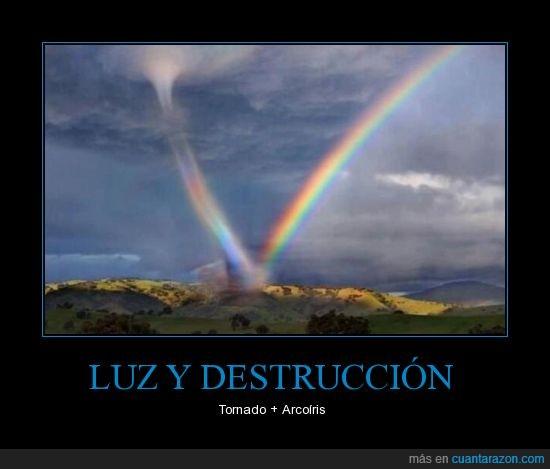 arcoiris,cielo,National Geographic,tornado,Twitter
