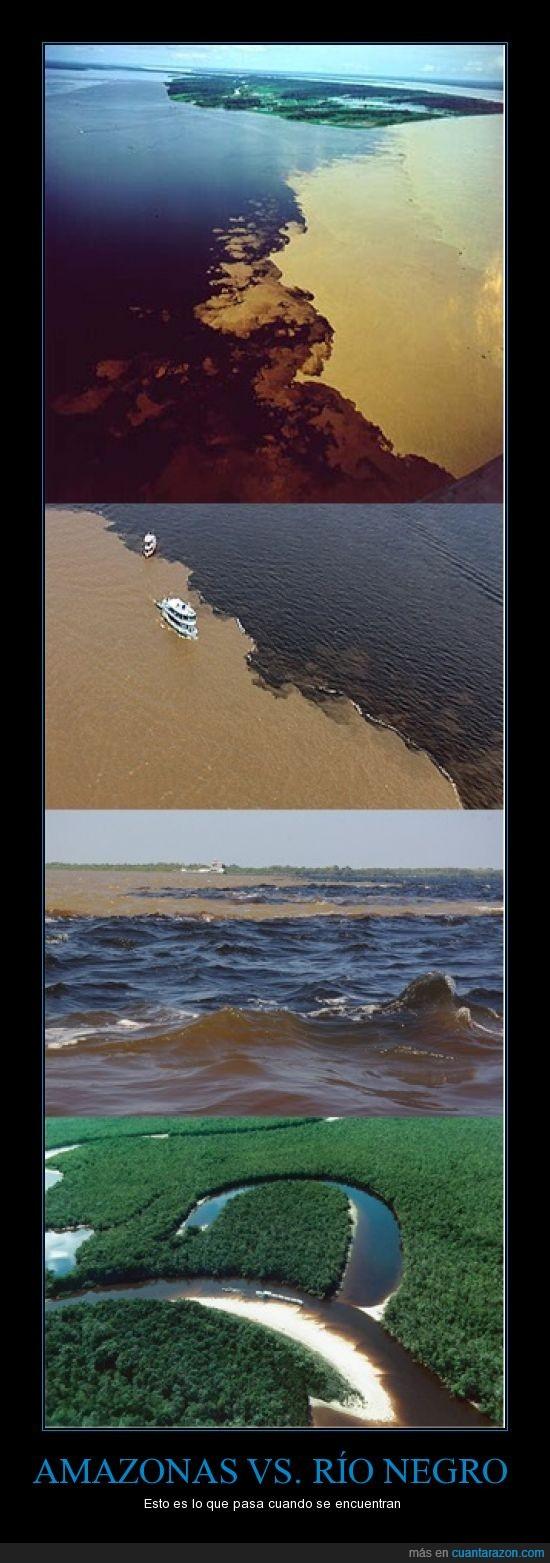 Amazonas,encuentro,río negro,ríos
