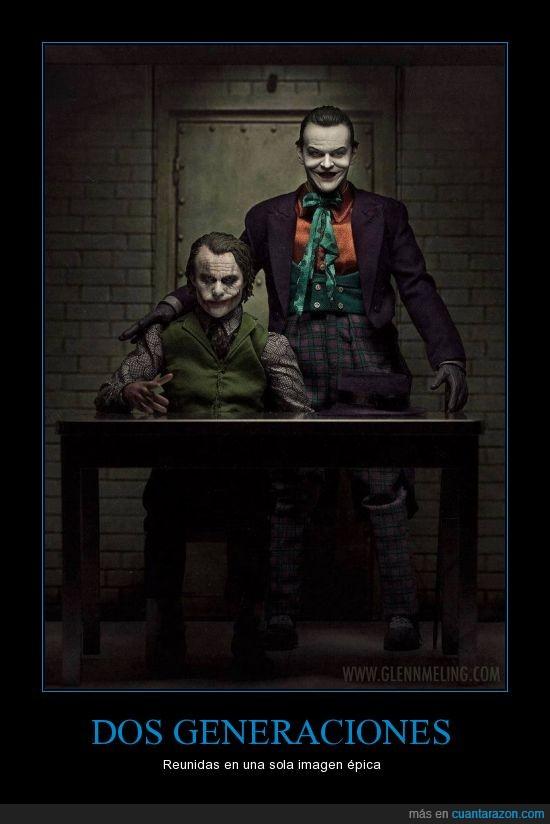 Batman,Heath Ledger,Jack Nicholson,The Joker