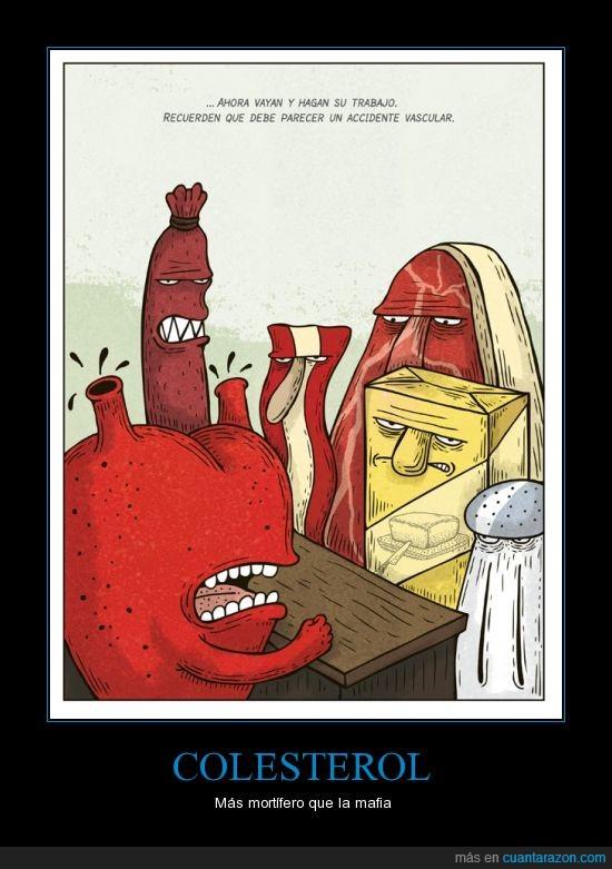 ataque,carnes,colesterol,corazon,grasa