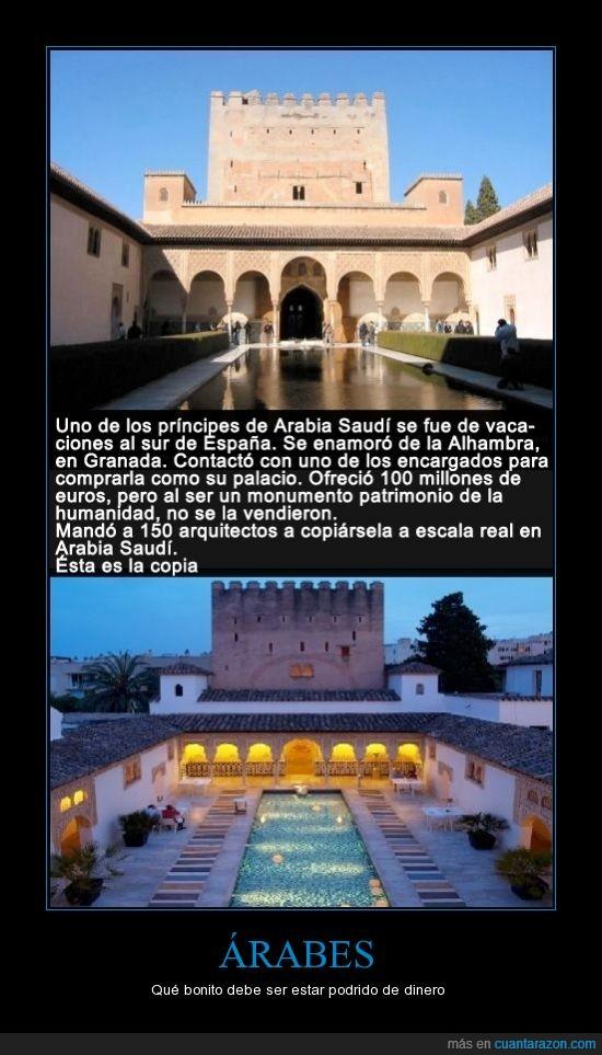 alhambra,arquitecto,comprar,copia,dinero,palacio,rico